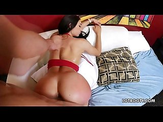 Big ass and busty brunette crystal rae gets fucked