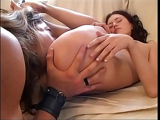 Sexy women kept on a leash and fucked like animals