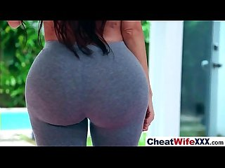 Superb wife lela star cheats on camera in hard style action movie 18