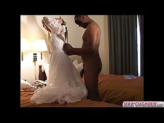 Maxcuckold com bride interracial cuckold