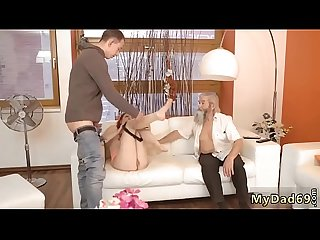 D by daddy xxx Unexpected practice with an older gentleman