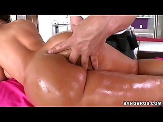 Lisa ann oiled up