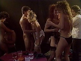 Candy Evans,Peter North,Krista Lane,Ron Jeremy Vintage ORGY
