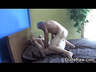 Silver fox rams ass raw
