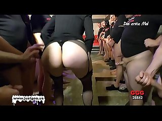 Nerdy librarian manu huge gangbang german goo girls