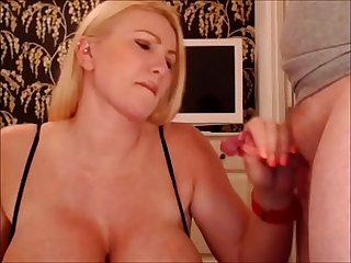 Big ass milf loves to suck and fuck covered in cum