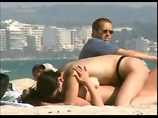 Playful girls on the beach lesbiancamstuff com