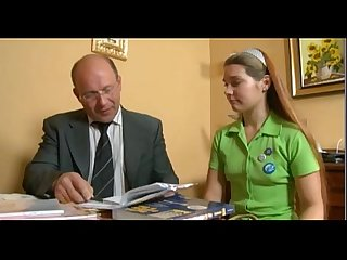 young teen cute russian girl and old man teacher. sweet fist time porn.