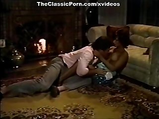 Vintage porn movie with sexy retro babe