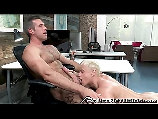FalconStudios - Cute Blonde Gets Fucked At The Office By Boss Daddy