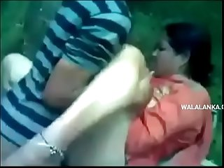 Indian whore outdoor threesome fuck - www.walalanka.com