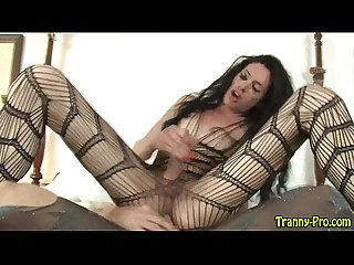 Hot tranny rides cock