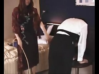 007 service lady punished spanked
