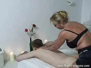 Chubby dutch massage amp rough fuck