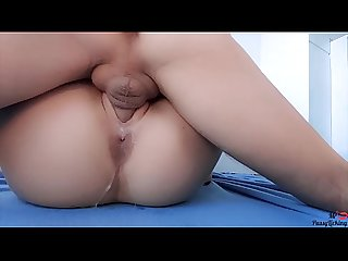 Close up LICKING and HARD FUCKING juicy wet pussy until CREAMPIE - Real Homemade MrPussyLicking