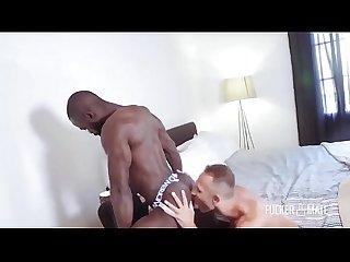 Hot black and white guys bareback