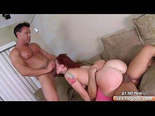 Sophia locke in a threesome