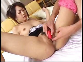 Hot japanese maid