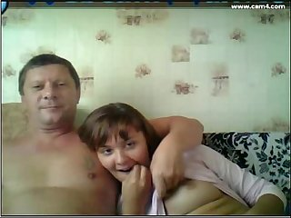 dad and daughter watching tv, I do this with my dad too