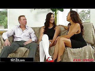 Anal Slut Dominated By Horny Swingers Couple - Francesca Le, Holly Michaels