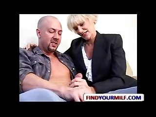Mature mrs lott seducing young guy