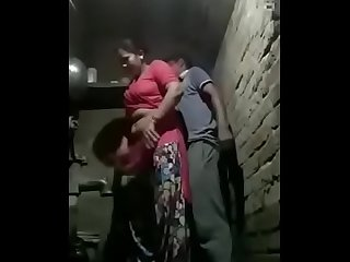 My mom fucking with neighbour uncle catch in hidden cam