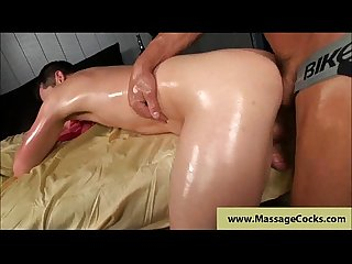 Deep anal massage