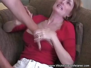 She is not ready to fuck two guys