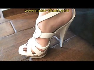 The extreme miss laurie savage high heels sandals punishement