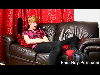 Hot twink scene 18 year old Austin Ellis is a succulent gay guy from