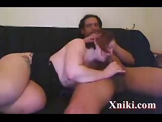 thick white give eats black cum - Xniki.com