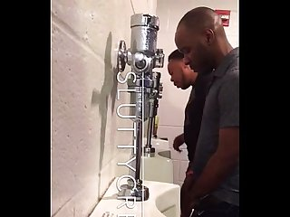 Black spy gay Toilet cruising