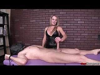 Mean dominant milf handjob