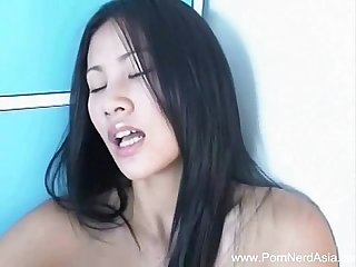 Asian Girlfriend With Dildo