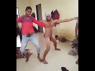 Indian desi boys funny nude dance