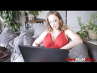 Sexy Big Tits And Big Ass MILF Stepmom Can't Stop Fucking Her Stepson