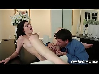 Family strokes daddy fucks and old pervert young girl Risky Birthday