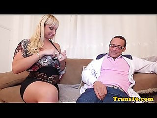 Tranny analized by big cock for cash
