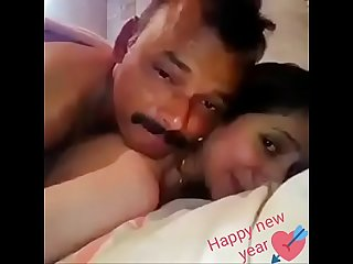 Happy new year Desi couple hard fuck and mons loudly