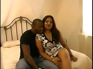 Mature indian interracial