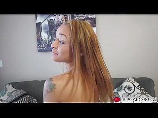 Holly Hendrix rides his step bros big thick and throbbing cock