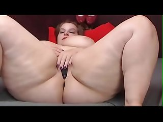 This bbw cam show got banned watch part2 on cumcam com