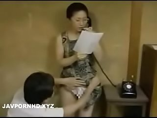 Cheating japanese Wife caught by husband