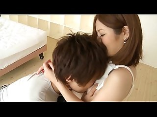 Cute Japan girl fucking her bf in hotel