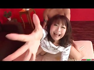 Maika amazing milf sex with two younger males more at japanesemamas com