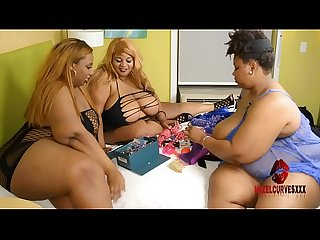 Bbw threesome squirt party