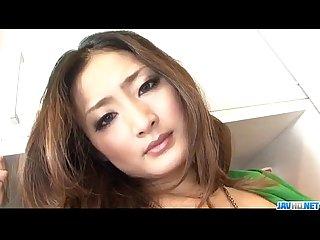 blasting porn show along superb risa murakami