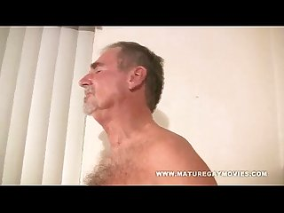 Two guys over 60 fuck each other
