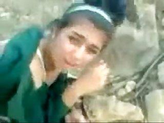 Pakistani school girl outdoor anal fucking