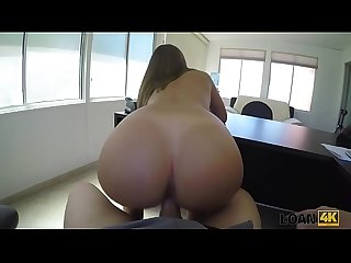 LOAN4K. Agent wants to see her nude body and feel her juicy pussy